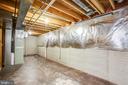 extra storage in basement - 6 S POINTE LN, FREDERICKSBURG