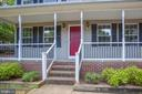 New renovated front porch - 6 S POINTE LN, FREDERICKSBURG