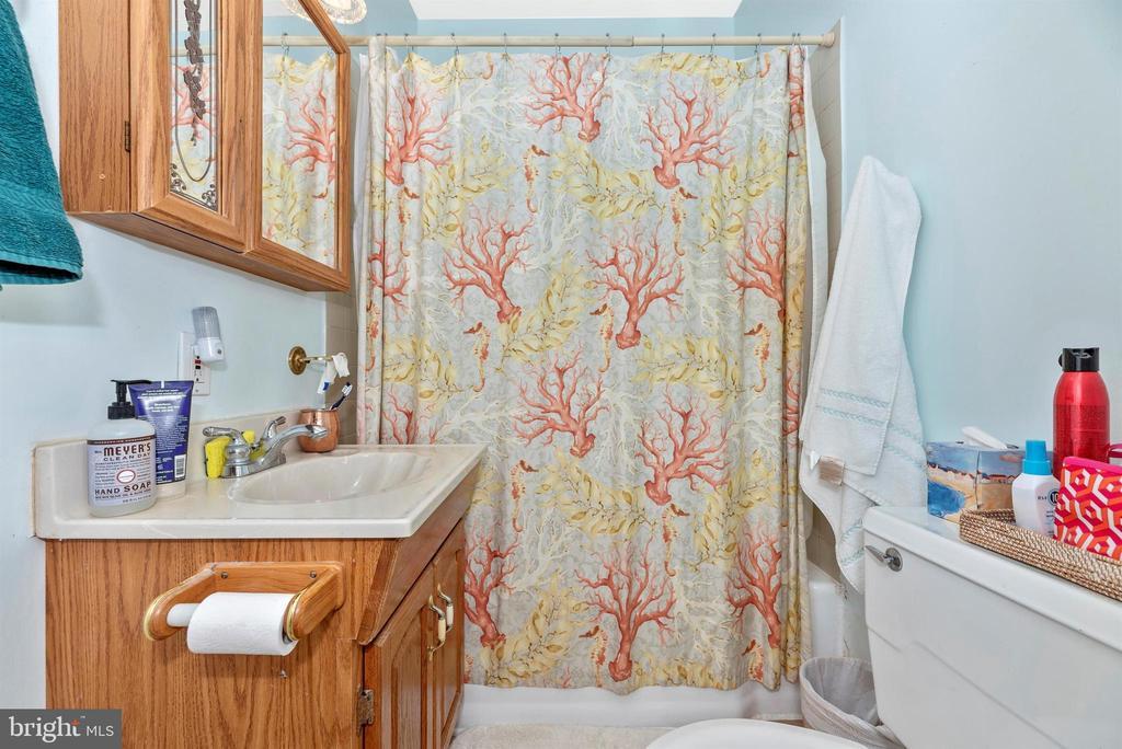 guest house bathroom - 11437 BETHESDA CHURCH RD, DAMASCUS