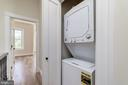 Conveniently located washer dryer on upper level - 704 G ST NE, WASHINGTON