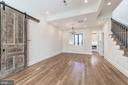 Open living space with recessed lighting - 704 G ST NE, WASHINGTON