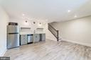 Fully renovated kitchenette/ stainless appliances - 704 G ST NE, WASHINGTON