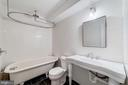 Fully renovated third full bathroom - 704 G ST NE, WASHINGTON