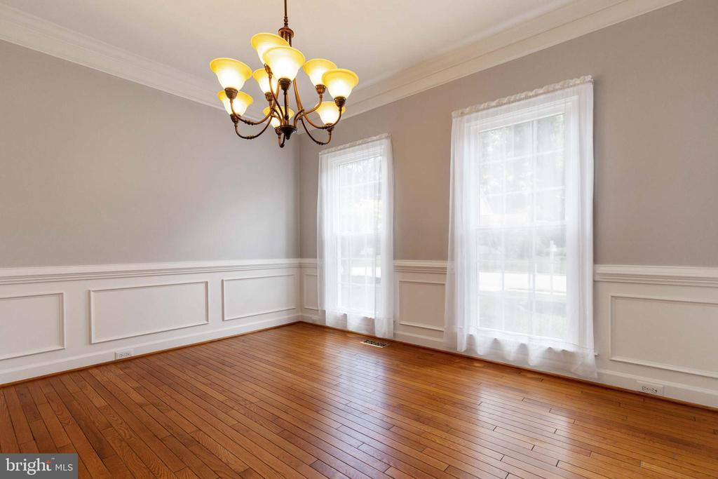 Formal Dining Room - 9510 CLAYCHIN CT, BURKE