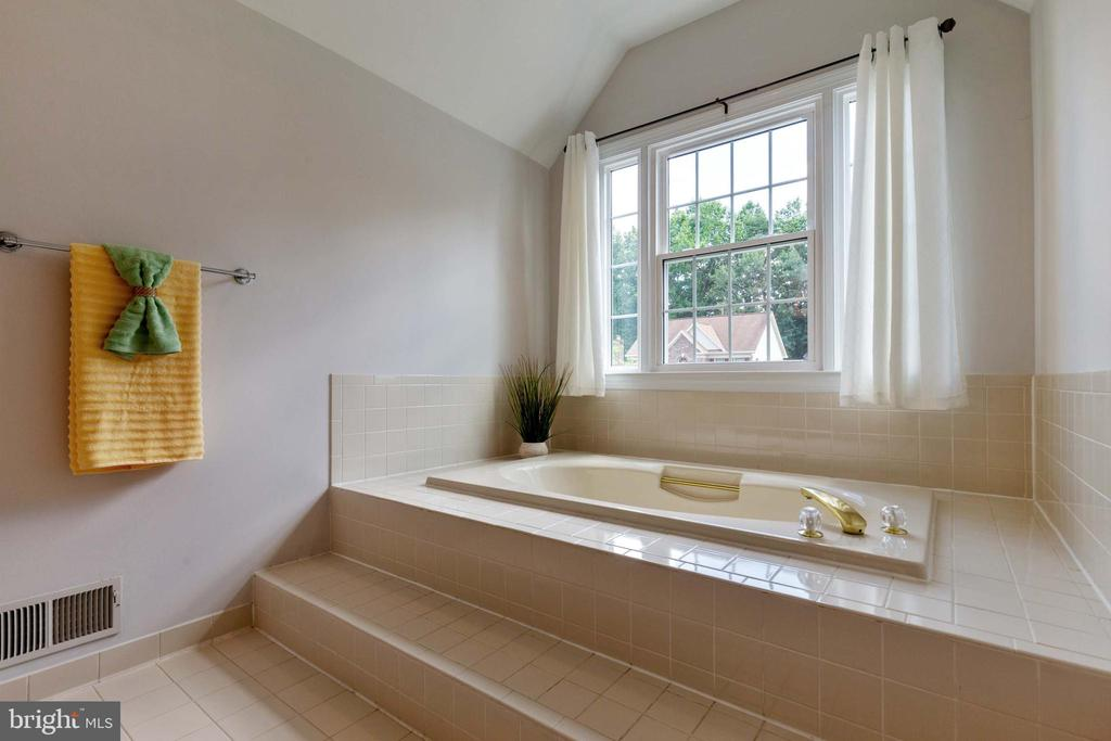 Master Bath - 9510 CLAYCHIN CT, BURKE