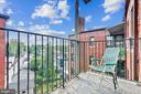 Balcony - 4007 CONNECTICUT AVE NW #507, WASHINGTON