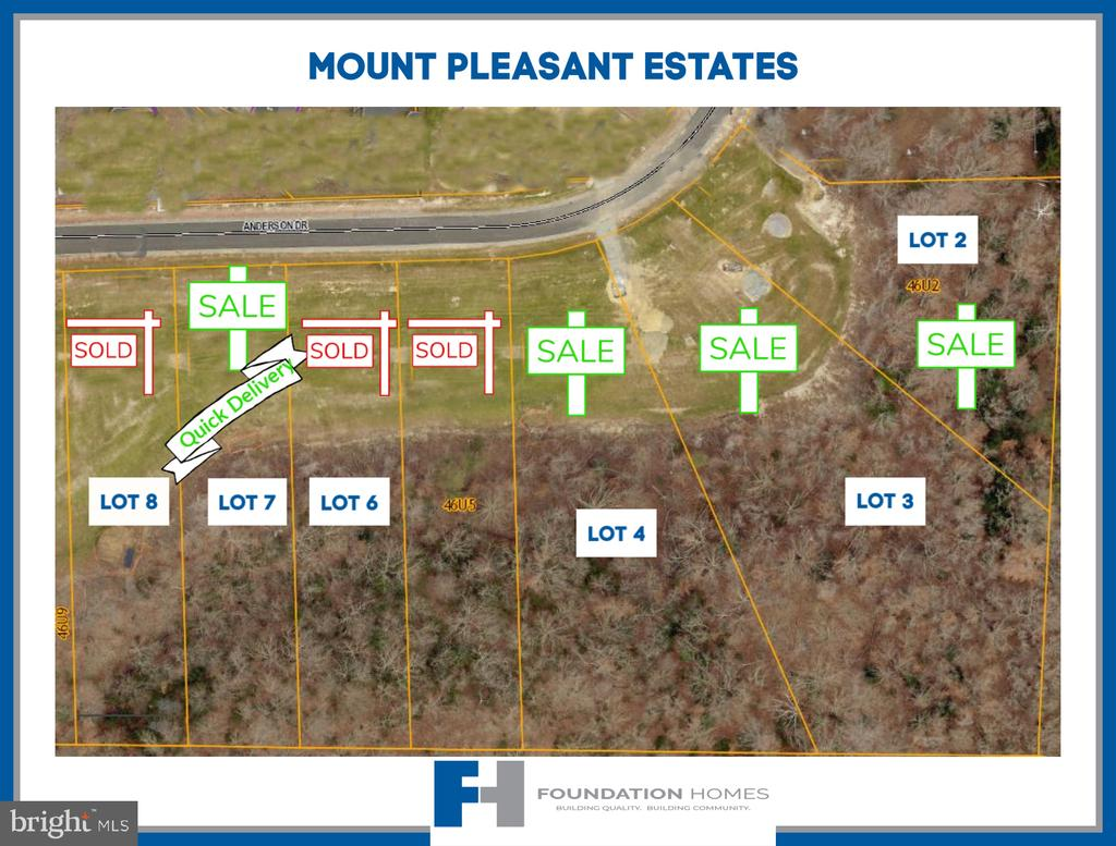 Lot 2 Nearly 1 Acre - Reese w/ Sunroom - 276 ANDERSON DR, FREDERICKSBURG