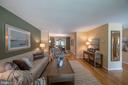 View through to dining room and 3 season room - 505 WOODSHIRE LN, HERNDON