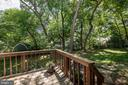 Bird watching view from the deck - 505 WOODSHIRE LN, HERNDON