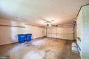 Two car garage from  laundry/drop zone door - 505 WOODSHIRE LN, HERNDON