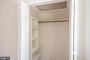 Bedroom #4  walk in closet - 505 WOODSHIRE LN, HERNDON