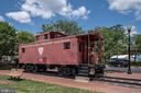 The Herndon caboose! - 505 WOODSHIRE LN, HERNDON
