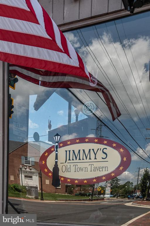 Jimmy's is a favorite spot in Old Town Herndon - 505 WOODSHIRE LN, HERNDON