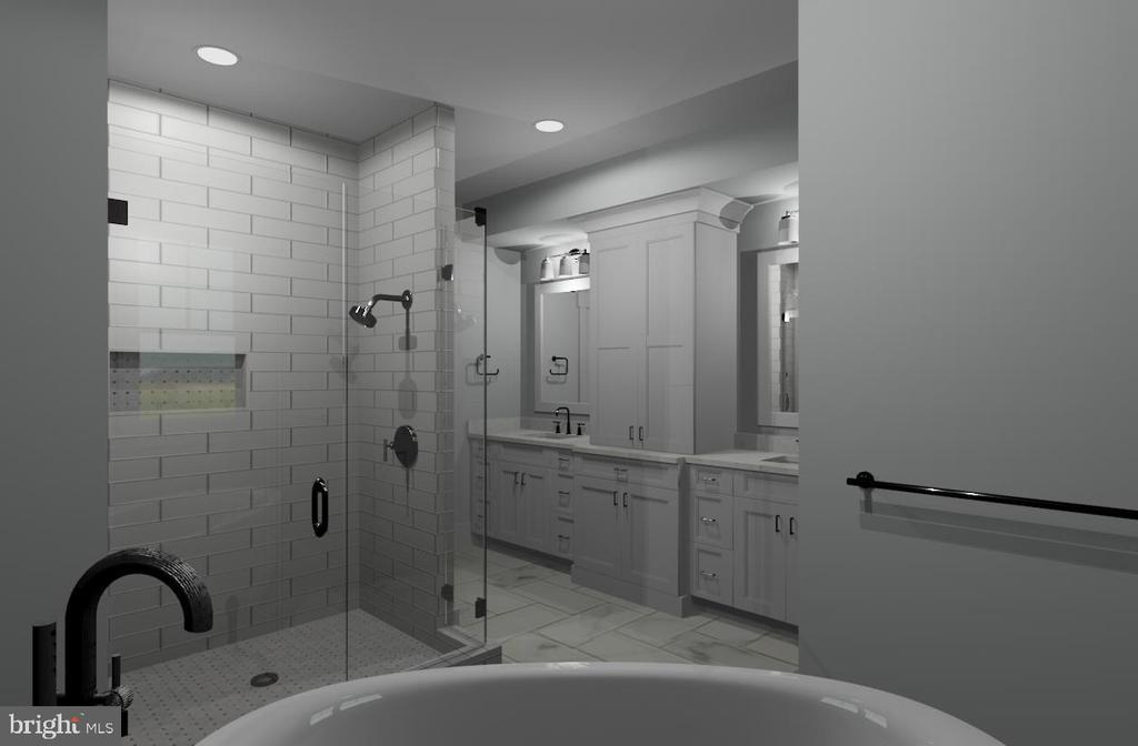 Master bathroom - 11204 WESTMONT DR, SPOTSYLVANIA