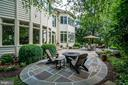 Updated custom stone patio - 43559 FIRESTONE PL, LEESBURG