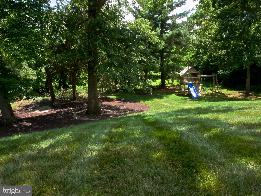Backyard - 12003 MEADOWVILLE CT, HERNDON