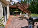 Backyard Patio - 12003 MEADOWVILLE CT, HERNDON
