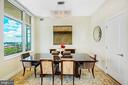 Dining Room - 8220 CRESTWOOD HEIGHTS DR #1814, MCLEAN