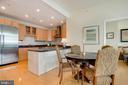 Breakfast Area & Kitchen - 8220 CRESTWOOD HEIGHTS DR #1814, MCLEAN