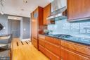 Chef's kitchen with high-end finishes - 2001 15TH ST N #1104, ARLINGTON
