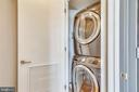 Large stacked washer/dryer - 2001 15TH ST N #1104, ARLINGTON