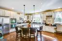 Gourmet kitchen! - 52 WAGONEERS LN, STAFFORD