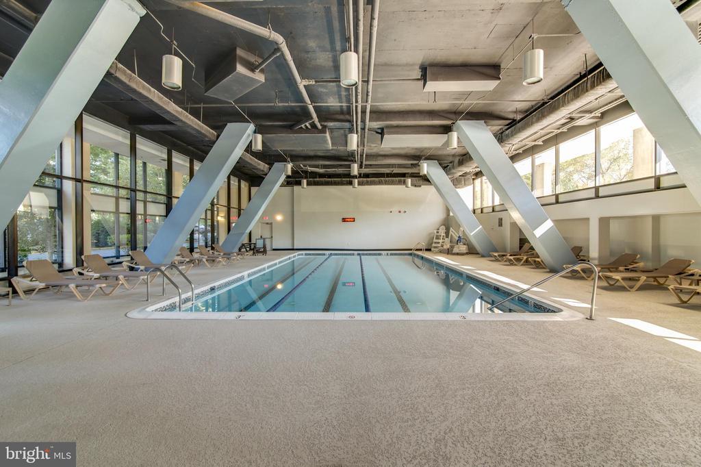 Indoor Pool - 3800 POWELL LN #705, FALLS CHURCH
