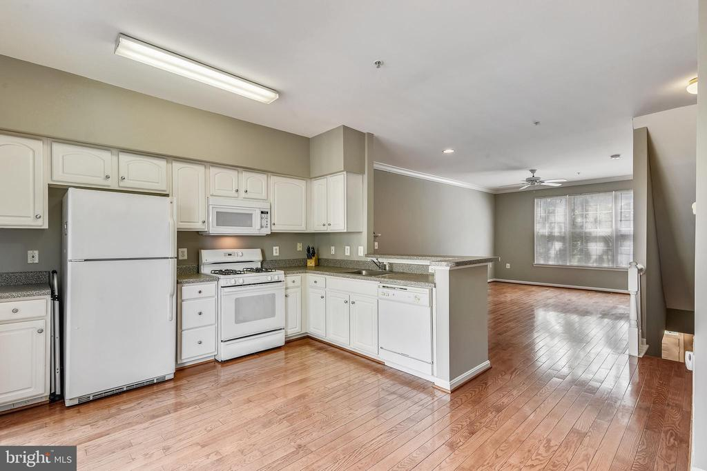 Nice Hardwood Floors - 21816 PETWORTH CT, ASHBURN