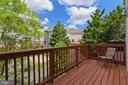 Freshly Painted Deck - 21816 PETWORTH CT, ASHBURN