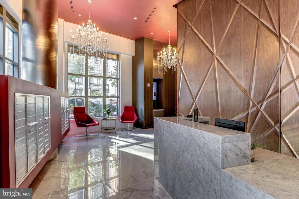 Elegant lobby entrance - 460 NEW YORK AVE NW #801, WASHINGTON