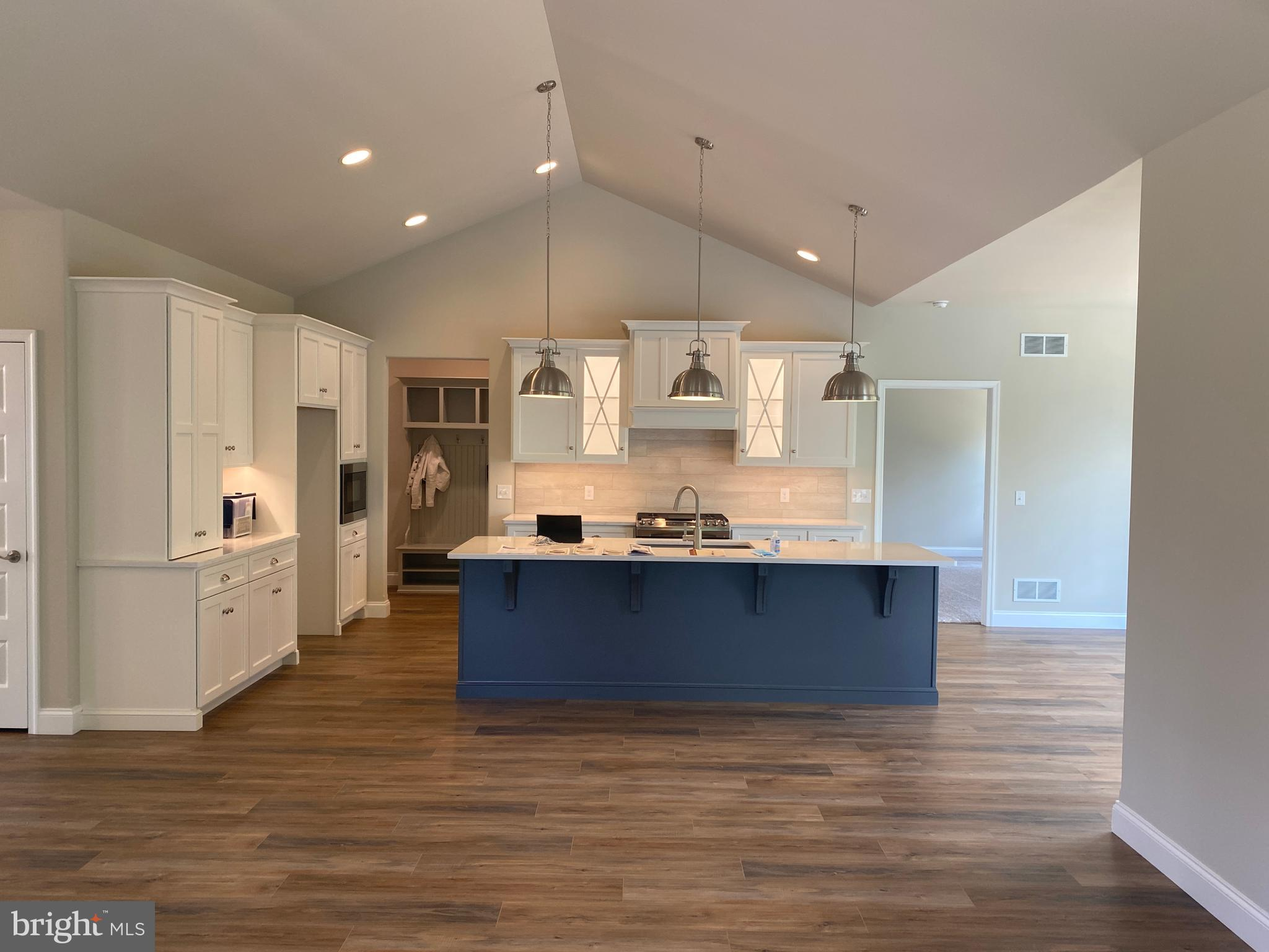 Lighted cabinets and under cabinet lighting