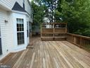 Exterior view of deck from steps - 43114 LLEWELLYN CT, LEESBURG