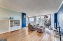 Open concept living room - 2059 HUNTINGTON AVE #707, ALEXANDRIA