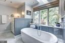 Owners Bath w/double vanities, step-in shower - 10 STANMORE CT, POTOMAC