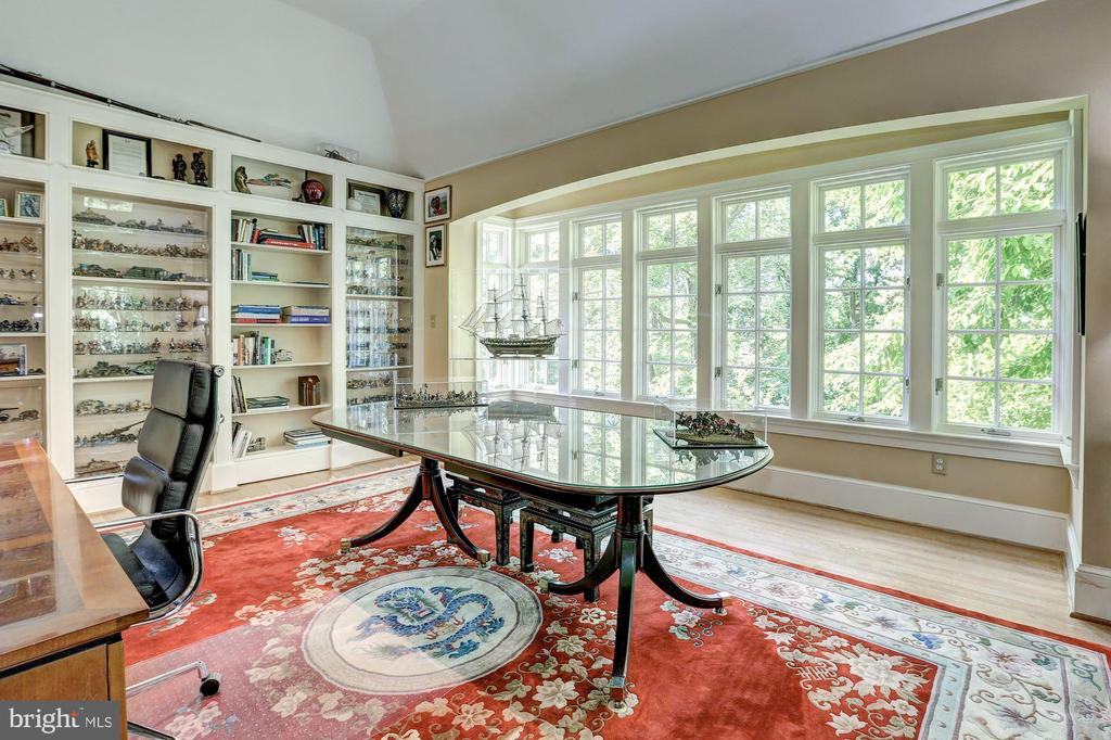 Home Office with magnificent Lake view - 10 STANMORE CT, POTOMAC