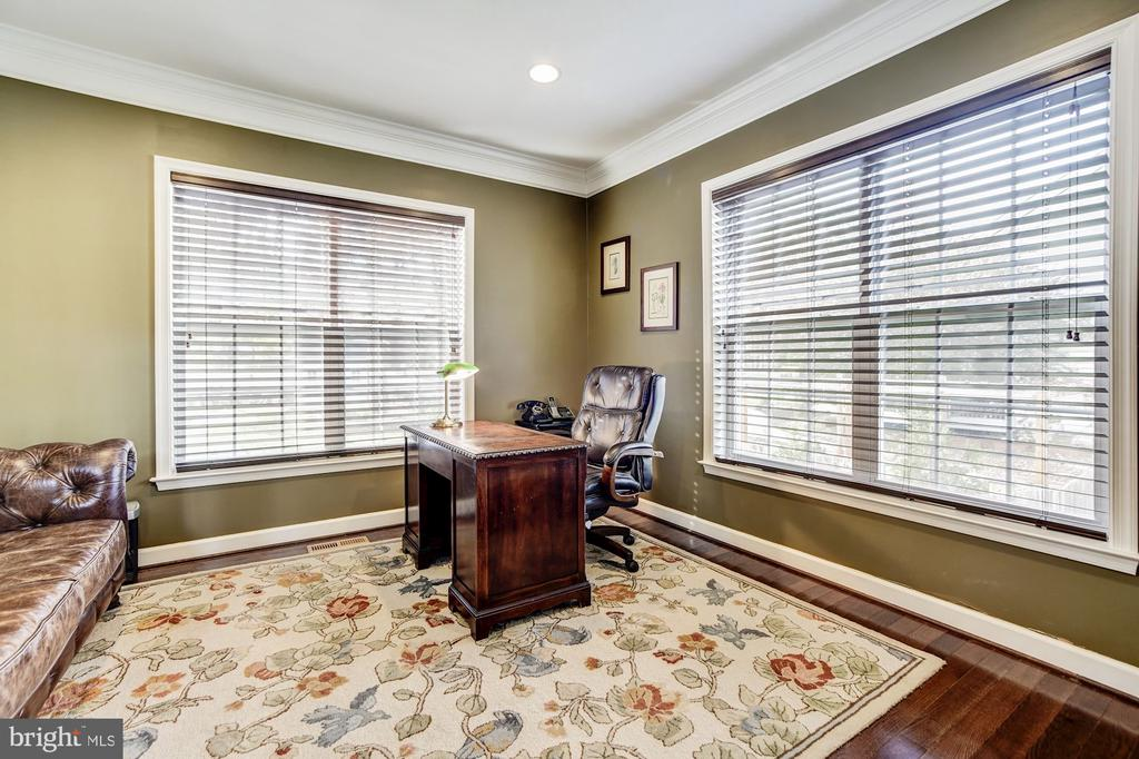 Study with French doors for privacy...home office - 3805 COLONIAL AVE, ALEXANDRIA