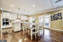 Informal dining area and amazing 4 season porch - 3805 COLONIAL AVE, ALEXANDRIA