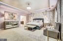 Spacious Master suite with luxurious bathroom - 3805 COLONIAL AVE, ALEXANDRIA