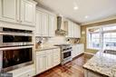 Wall oven and microwave, ss appliances and hood.. - 3805 COLONIAL AVE, ALEXANDRIA