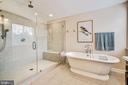 Master bath - 3805 COLONIAL AVE, ALEXANDRIA