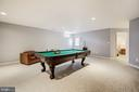 Recreation/game room with access to the yard - 3805 COLONIAL AVE, ALEXANDRIA
