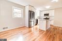 Dining/Kitchen combo, pic 1 - 900 S WAKEFIELD ST, ARLINGTON