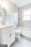 UPP LVL Hallway bathroom, pic 1 - 900 S WAKEFIELD ST, ARLINGTON