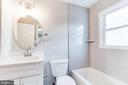 UP LVLHallway  bathroom, pic 2 - 900 S WAKEFIELD ST, ARLINGTON