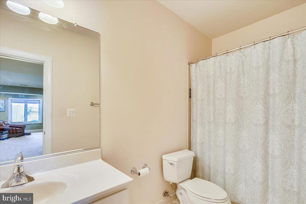 Lower level full bath - 18356 FAIRWAY OAKS SQ, LEESBURG