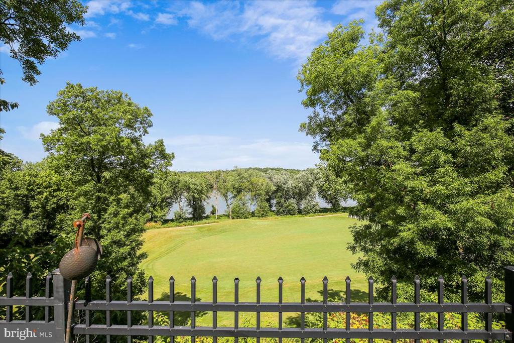 View from back of property - 18356 FAIRWAY OAKS SQ, LEESBURG