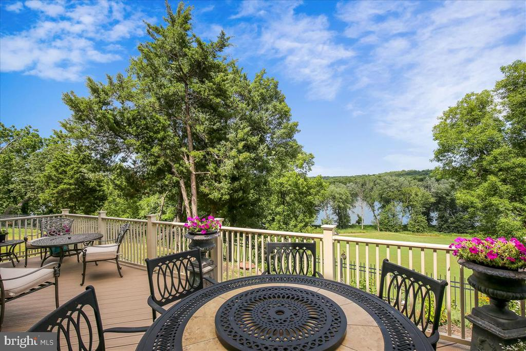 You'll never tire of the views from your decks! - 18356 FAIRWAY OAKS SQ, LEESBURG
