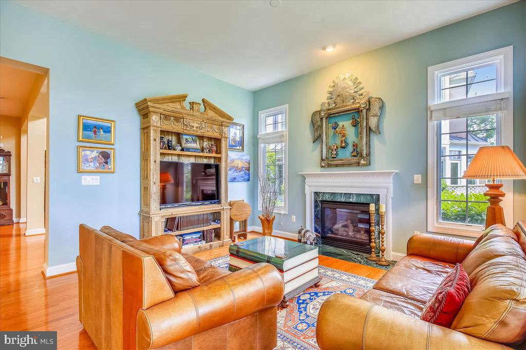 Another view of family room - 18356 FAIRWAY OAKS SQ, LEESBURG