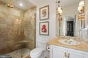 Master bathroom w/standing shower - 510 HAMMONDS CT, ALEXANDRIA