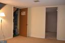 Rec Room with Utility Room Door Open - 3572 S STAFFORD ST, ARLINGTON